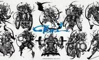 パラアスリートを武人画で描く!パラスポーツ応援プロジェクト「Para Plus Project」