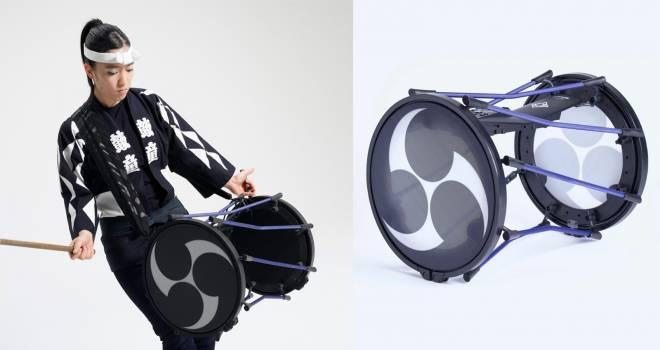遂に商品化!世界初の担ぎ桶スタイルの電子和太鼓「TAIKO-1」をローランドが発売
