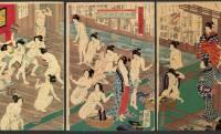 VIOのヘア処理はなんと石で!?今では考えられない江戸時代の湯屋の内部とは
