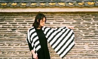 完成させるのは使い手。絞り染めを制作途中で止め製品化「TOCHU スカーフ&ストール」が素敵!