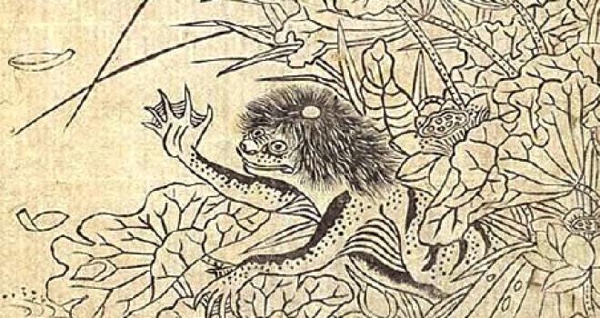 静かな川原で繰り広げられた血みどろの惨劇!目久尻川のカッパ伝説を紹介