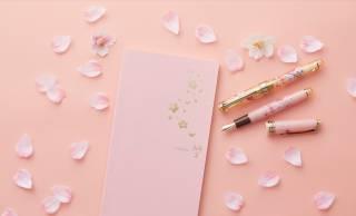 """セーラー万年筆が日本の春を象徴する""""桜""""をテーマにした万年筆セットを発売"""