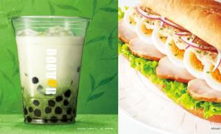 ドトールが和風テイスト「タピオカ ~宇治抹茶ミルク~」と、味噌ソースを使ったミラノサンドを発売!
