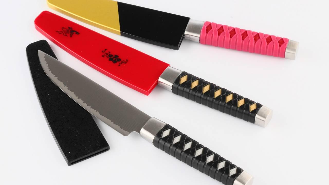 キッチンへいざ行かん!龍馬、土方、信長の名刀が包丁になったぞ!切れ味もよく実用的