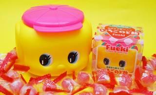 福岡限定バージョン!ロングセラー「フエキどうぶつ糊」のフエキくんが、のど飴&ふりかけになったよ