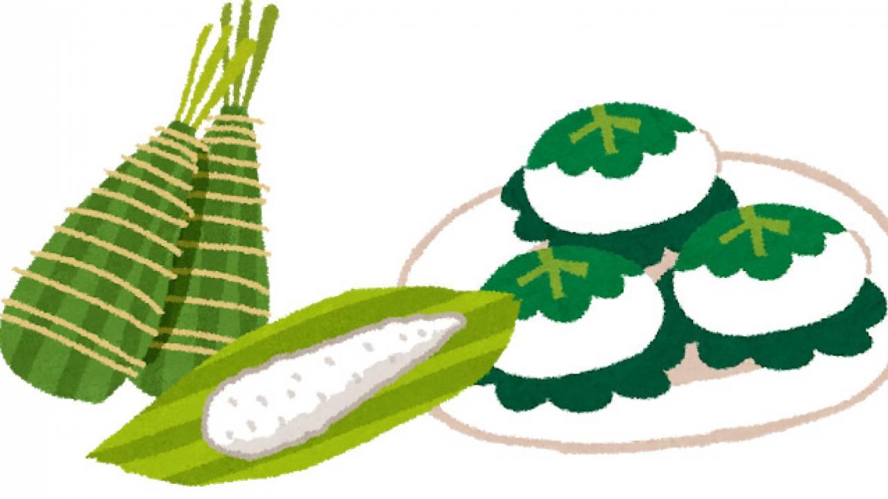 粽(ちまき)と柏餅の由来・起源。どうして五月の「端午の節句」に食べるの?