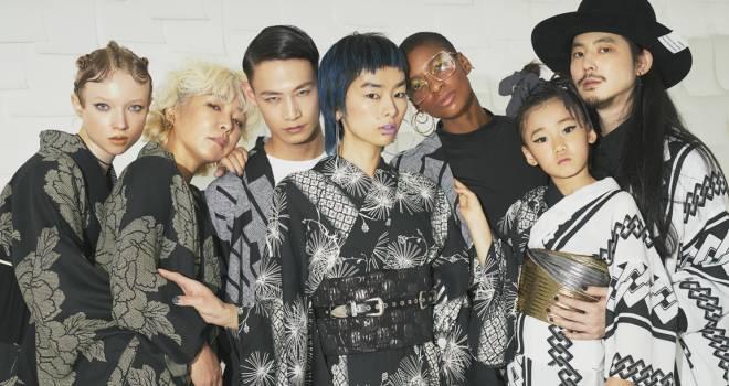 洋服みたいにキモノを楽しむ!歌舞伎や春画にフィーチャーしたKIIROの春コレクションが発表