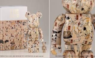 ニャンコまみれ♡歌川国芳による猫ちゃんの浮世絵がBE@RBRICKになったよ!