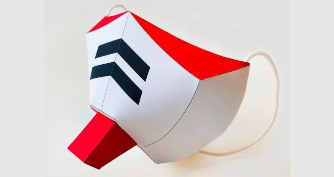 自作できます!機動戦士ガンダム的なペーパークラフト型「連邦の白いマスク」が秀逸だぞ(笑)