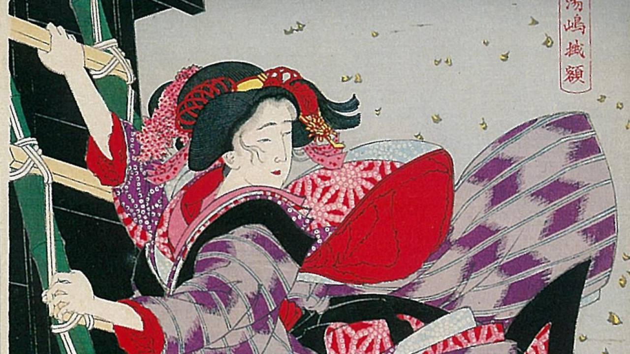 映画やドラマで取り上げられる「吉原炎上」吉原遊郭の歴史は火災の歴史でもある