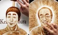 愛に溢れたあの笑顔。志村けんさんをチョコレートで描くファンアート動画が素敵!