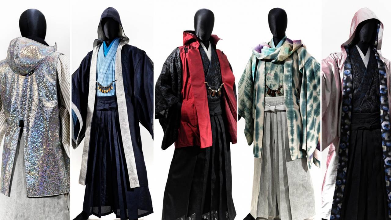 着物の素材感が動画でわかる!男の着物ブランド「和次元 滴や」が新作コレクションを発表