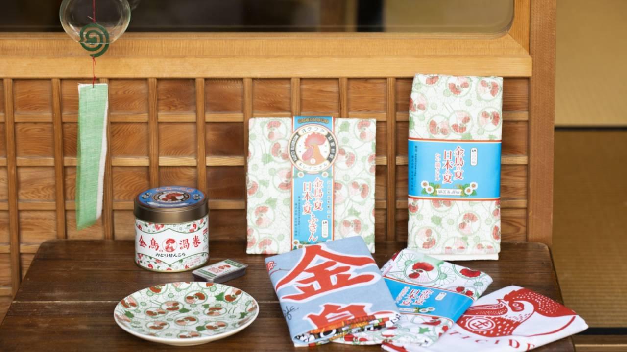 金鳥な九谷焼小皿も!中川政七商店と金鳥によるキュートなコラボグッズが今年も発売