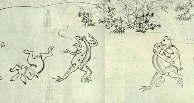 録画必至!8K映像で「国宝 鳥獣戯画」の謎に迫る番組がNHK総合で放送!漫画家・荒木飛呂彦も出演