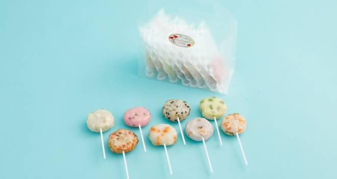 このビジュアルずるい♡8種類の個性豊かな味が楽しめる「ロリポップ揚げ天」がめちゃ可愛いよ!