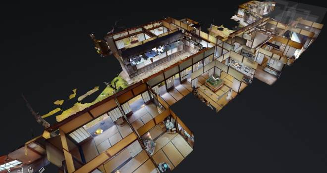 高解像度で楽しめるよ!国重要文化財「旧堀田邸」をVR映像でオンライン探検できるサービスがスタート