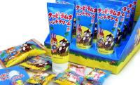 レトロで懐かしいデザイン♡ロングセラー駄菓子「クッピーラムネ」の甘酸っぱい香りを再現したハンドクリーム新発売