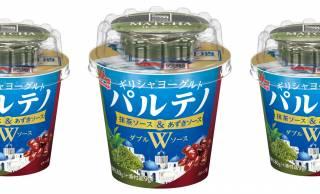 ギリシャヨーグルト「パルテノ」が抹茶とあずきを使った和フレーバーな新商品を発売