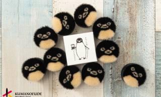 広島県に受け継がれる熊野筆の伝統技法を使ったメイクブラシ「ペンギンクマノフデ」がめちゃ可愛いよ♡