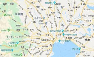 見ながらご飯三杯いける!古地図ファンにはたまらん「江戸時代の関東周辺のGoogleマップ風地図」がスゴい