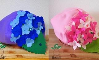 これからの季節にピッタリ!紫陽花がモチーフの「紫陽花ぼうし」が可愛いよ♡