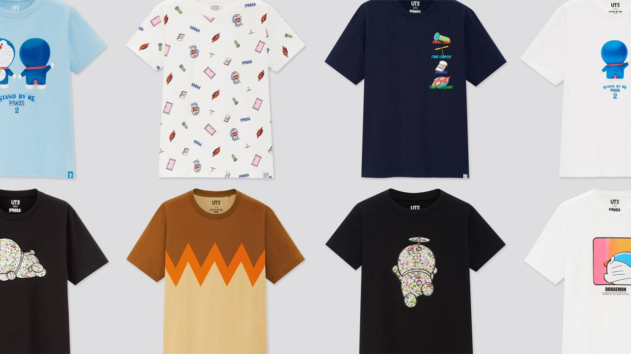 ジャイアンのあのTシャツも!ユニクロからドラえもんの世界がつまった「ドラえもんUT」が発売