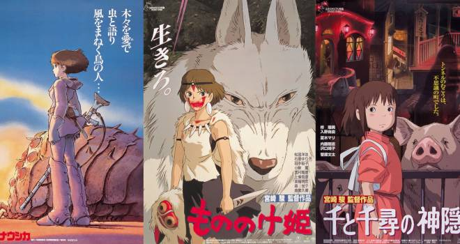 貴重な特報映像も公開中!ナウシカ、もののけ姫、千と千尋…ジブリ4作品が全国の映画館で再上映決定!