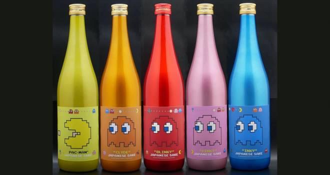 ボトル可愛いわぁ♡伝説のゲーム「パックマン」の生誕40周年を記念した日本酒が発売!