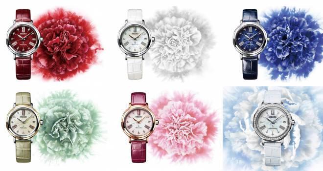 日本のすてきを銀座から。日本の伝統色を表現した新コレクションがセイコー ルキアから登場
