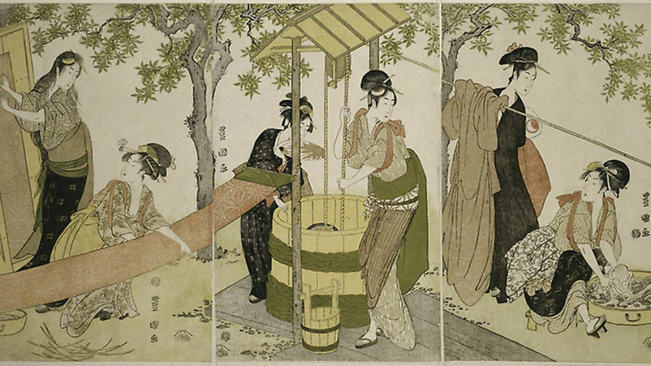 日本橋、遊郭、長屋…浮世絵で見る、江戸時代を生きる人々のタイムスケジュールはどうなっていた?【午前3時から午前9時頃】