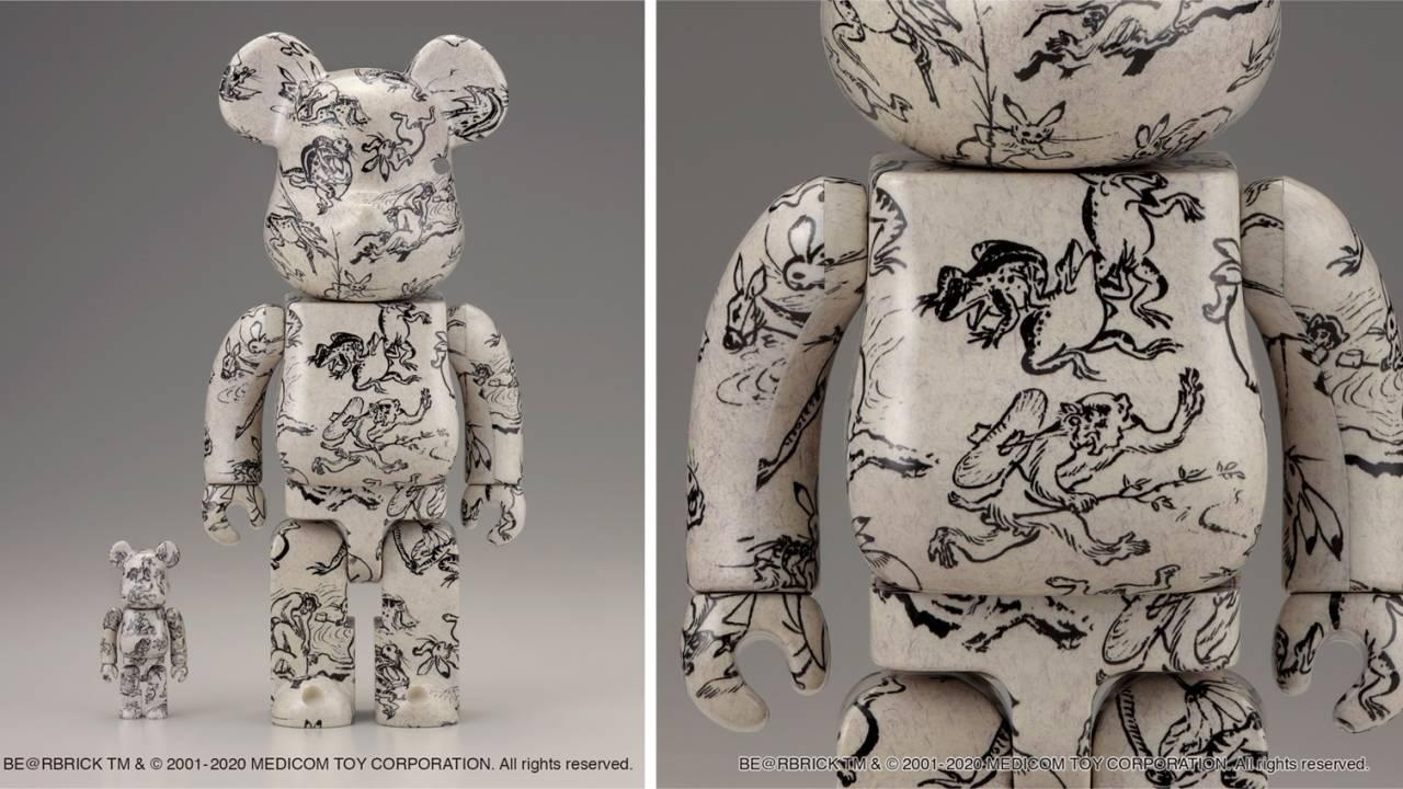 みんな大好き、キュートな国宝絵巻「鳥獣人物戯画」がBE@RBRICKになったよ!
