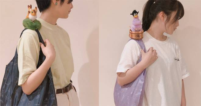 ジブリキャラのキツネリスや坊ねずみの「肩のせエコバッグ」が究極に可愛いよ〜!