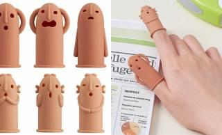 はにわがモチーフのキュートな指サック「はにさっく」爆誕!単調な事務作業に癒やしを♡