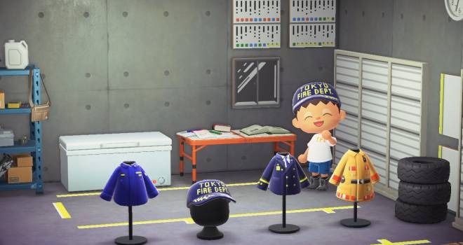 東京消防庁がオフィシャルで「あつまれどうぶつの森」のマイデザインを公開!男の子が喜びそう♡