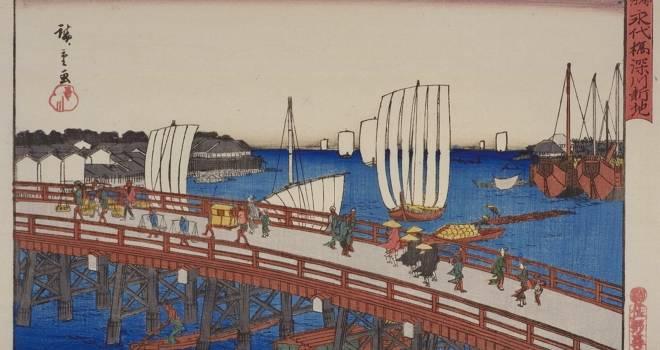 人が米粒のようにこぼれ落ち…江戸時代に隅田川で起きた最悪の事故「永代橋崩落事件」