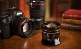 カメラ好きさん是非!カメラレンズを江戸切子で表現した「江戸切子レンズグラス」が美しい!