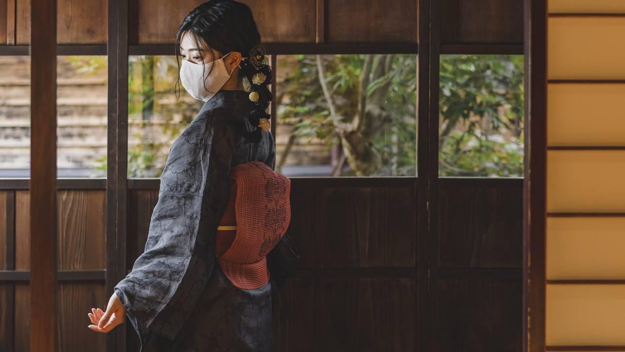 全13色!着物との相性もぴったりな和紙を使った織物マスクが数量限定発売