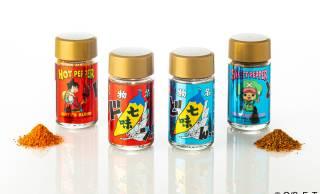 ネーミング(笑)七味唐辛子の「根元 八幡屋礒五郎」がワンピースとコラボした「麦わらの七味」発売!