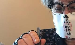 流石です!作家・京極夏彦のマスク姿がコロナも退散するレベルと話題に