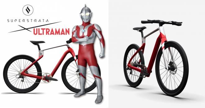78台限定!ウルトラマンらしさが随所に感じられるカーボンファイバー製自転車が登場!