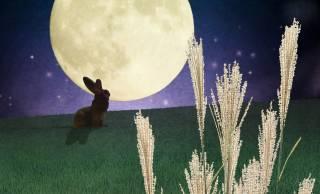 2020年の「中秋の名月」は10月1日。お月さまと心優しく哀しいうさぎのお話…とは?
