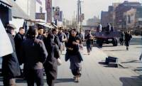 臨場感すごい!戦後間もない昭和時代の東京の街並みをAI技術でカラー映像化させた貴重な作品