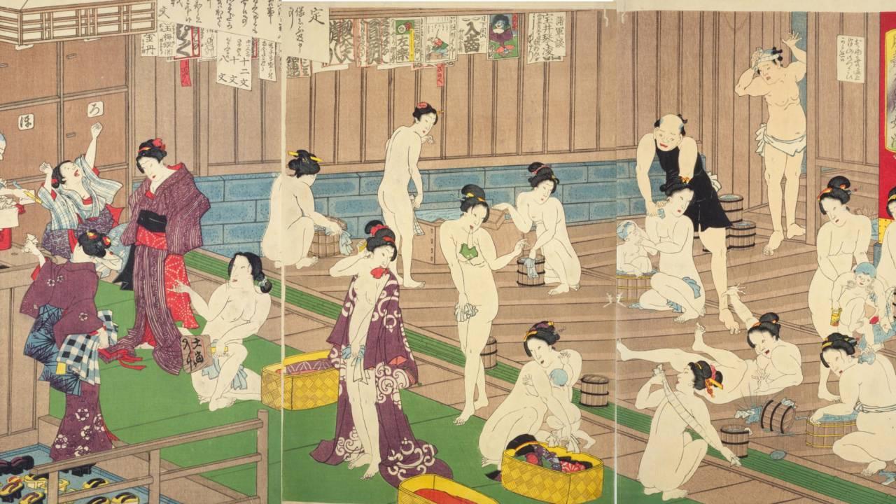 日本橋、遊郭、長屋…浮世絵で見る、江戸時代を生きる人々のタイムスケジュールはどうなっていた?【午前11時から午後1時頃】