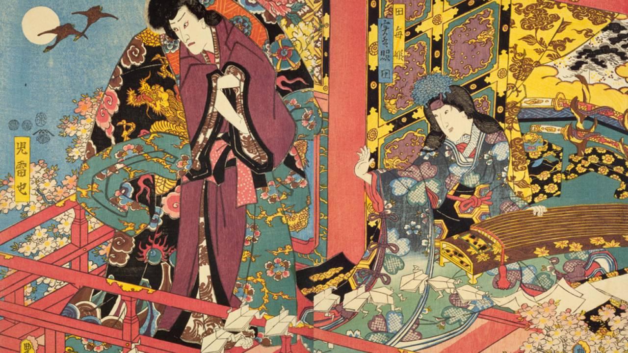 日本橋、遊郭、長屋…浮世絵で見る、江戸時代を生きる人々のタイムスケジュールはどうなっていた?【午後1時から午後3時頃】