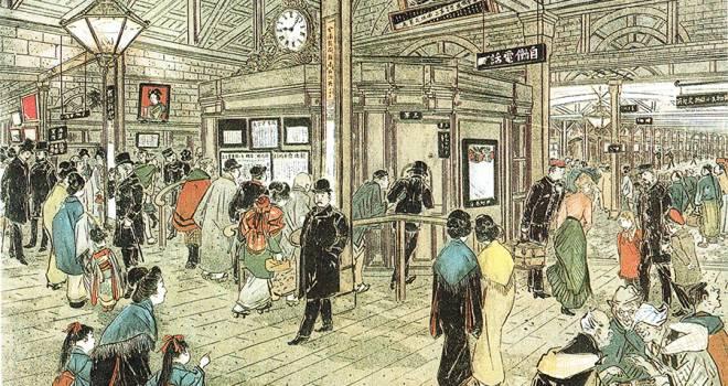新橋~横浜間を50分で走破!明治維新後に誕生した日本最初の鉄道。その名も「陸蒸気」【その2】
