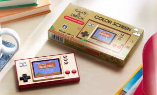 昭和55年に登場した懐かしの携帯ゲーム機「ゲーム&ウオッチ」が復活!なんと初代スーパーマリオを収録