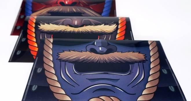 これはイカつい!戦国時代の防具「面頬」をモチーフにしたマスクケースが発売