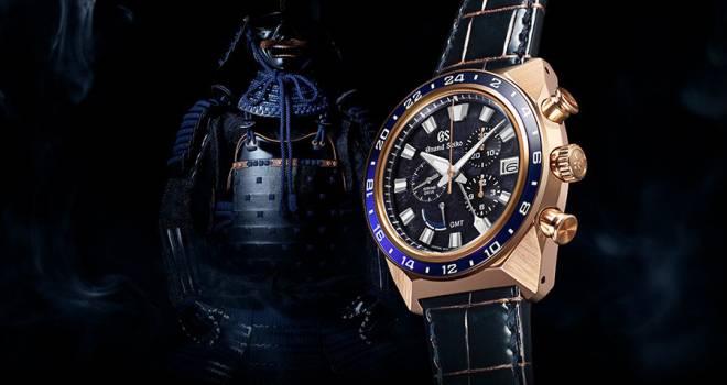 グランドセイコーが獅子甲冑をモチーフに勝色を採用した腕時計を新発売!
