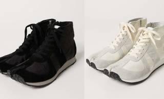 廃棄される車のエアバッグを再利用したカジュアルな足袋スニーカーが発売
