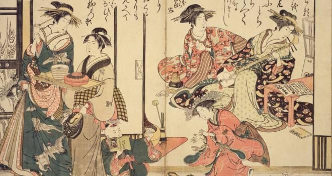 日本橋、遊郭、長屋…浮世絵で見る、江戸時代を生きる人々のタイムスケジュールはどうなっていた?【午後3時から午後5時頃】